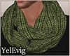 [Y] Green scarf M