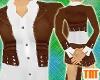 Indie Brown Suede Jacket