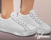 Denim White Sneakers