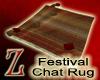 [Z]Festival Chat Rug