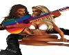 Hippie Love Guitar
