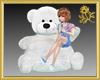 Xtra White Teddy Seat
