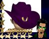 sf Cowboy Hat Purple