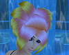 Heart Pink-Yellow Hair
