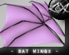 -LEXI- Bat Wings: Lilac