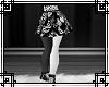 Emo Band Skirt & Legging