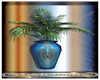 Indian bleu vase