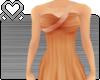 SM` Orange Dazzle Dress