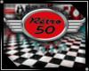 50's diner/retro