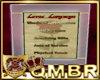 QMBR Loves Language
