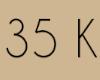 35 K - Sticker