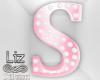 Baby Shower letter s