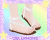 white sandals v2 ❤