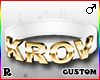 ☢! Krov Collar Gold