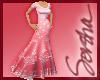 :S: Pink Saree Dress