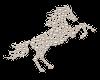 sticker pearl horse