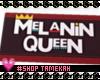 Melanin Queen Door Mat