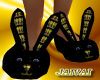 Blk Yellow Sweety Slippe
