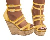 LG-Yellow Sianne Sandals