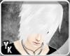 [YK] Suzu white emo hair