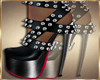 Daly heel sandals