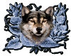 Glitter Fox Sticker
