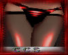 (CCS) PVC Leggings Red