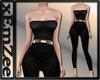 MZ - Velvet Bodysuit Blk