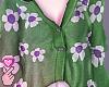 e flowers - green