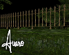 Mossy Garden Fence