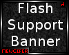 F! Flash Support Poster