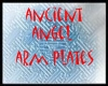 ancient angel arm plates