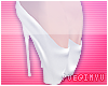 ; White Ballet Heels