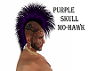 PURPLE/SKULL/MO-HAWK