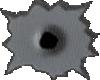 bullethole