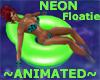 NEON GREEN Floatie