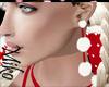 my lovely santa earrings