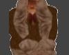 Brn Gucci Fur Jacket