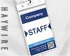 :Staff Card Holder