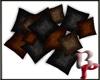 BP~Fur Floor Pillows