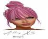 Pink Hair Bun Realistic