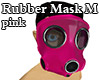 Rubber Mask M pink
