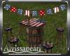 July 4th Barrel Table