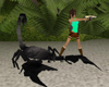 giant black scorpion pet