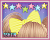 ! KID Yellow Bow In Hair