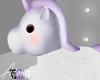 Purple toy Unicorn {YD}