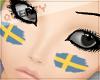 !Q! Sweden Face Paint