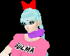 Bulma cosplay bow v1