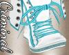 Cita Teal Storm Boots