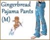 Gingerbread PajamaPantsM